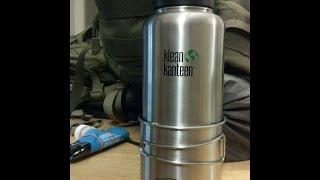 getlinkyoutube.com-40 oz. Klean Kanteen & GSI 0.6 L Glacier Cup
