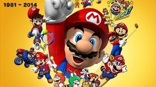 getlinkyoutube.com-The History Of Super Mario (1981 - 2014)