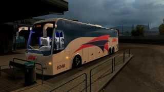getlinkyoutube.com-ETS 2 Volvo 9700 Select - ADO GL, Tapachula - Cancun con voz de itinerario
