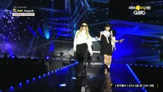 getlinkyoutube.com-2014 02 12 가온차트어워드 2NE1