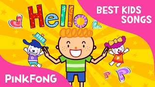 getlinkyoutube.com-Hello   Best Kids Songs   PINKFONG Songs for Children