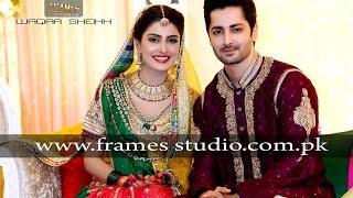 getlinkyoutube.com-Aiza Khan and Danish Taimoor Mehndi Pictures
