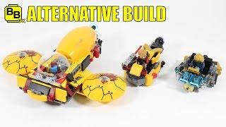 LEGO MARVEL 76080 ALTERNATIVE BUILD YONDU'S PURSUIT