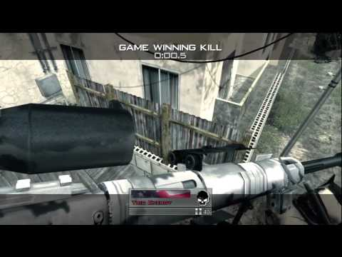 Insane MW2 GWK!! 1080 Pistol Switch Noscope Wallbang Tac Knife Flip!