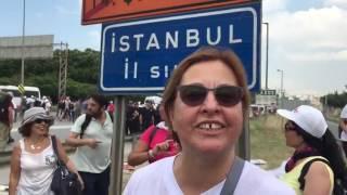 Başkan Pekdaş İstanbul il sınırından seslendi: Adalet için!