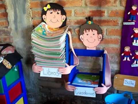 Sugerencias decoracion ambientacion de aula, preescolar