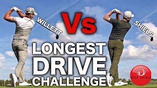 getlinkyoutube.com-RICK Vs DANNY WILLETT - FUN MACHO LONGEST DRIVE CHALLENGE