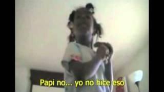 getlinkyoutube.com-Video de niña que espió a sus padres arrasa en la web