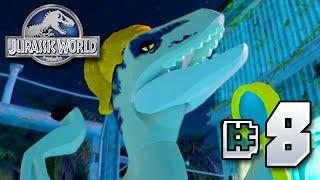getlinkyoutube.com-Fabulous Raptors!! Jurassic World LEGO Game - Ep8