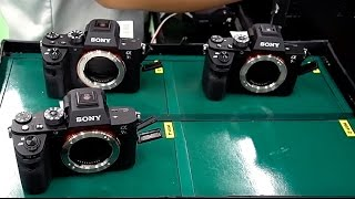 Watch a Sony A7R II Mirrorless Camera Get Built from Scratch at a Factory in Thailand