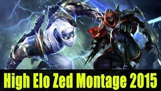 getlinkyoutube.com-High Elo Zed Montage 2015 - Zed Best Plays