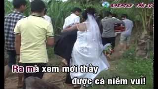 getlinkyoutube.com-Karaoke] Nhạc sống Đám cưới trên đường quê HD (melody beat)