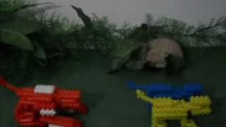 getlinkyoutube.com-Mega zord de Pinos Magicos - Jungle Fury
