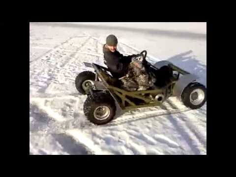 homemade go kart 70HP