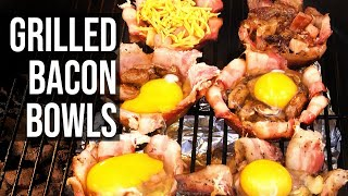 Grilled Bacon Bowls recipe by the BBQ Pit Boys
