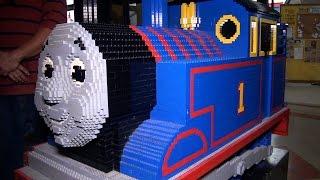 getlinkyoutube.com-Giant LEGO Thomas the Tank Engine