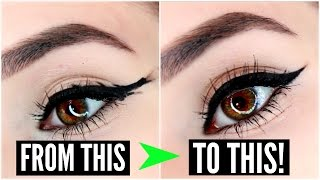 12 EYELINER HACKS for FLAWLESS Winged Eyeliner Every Time! | SylviaGani
