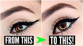 getlinkyoutube.com-12 EYELINER HACKS for FLAWLESS Winged Eyeliner Every Time! | SylviaGani
