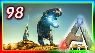 "getlinkyoutube.com-ARK: Survival Evolved - Custom ""BIONIC T-REX"" CONTEST S2E98 (Modded Gameplay) Tek tier Rex Games!"