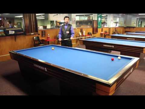 Basic 3 Cushion Billiards Shots by Pedro Piedrabuena