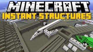 getlinkyoutube.com-Minecraft: INSTANT STRUCTURES MOD (Over 800+ Structures) Mod Showcase