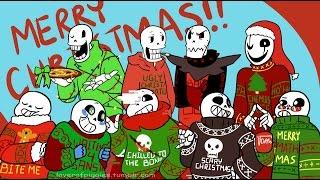 getlinkyoutube.com-Christmas Party AU Movie (Undertale Comic Dub)