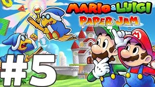 getlinkyoutube.com-MARIO & LUIGI PAPER JAM BROS Episode 5 FR Nintendo 3DS & 2DS
