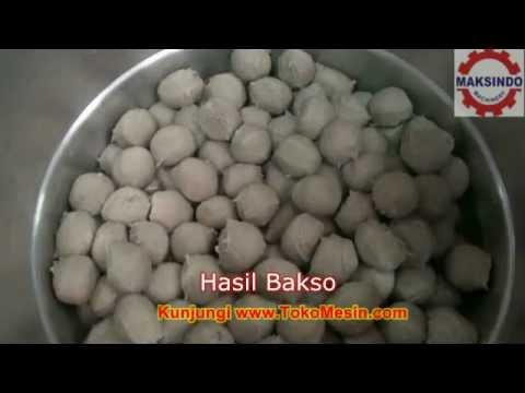 Cara Membuat Bakso (Video Lengkap)
