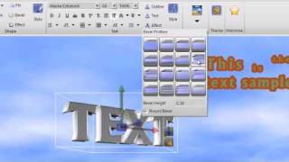 getlinkyoutube.com-Presentation3D, Create a 3D text