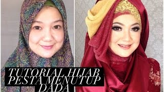getlinkyoutube.com-Tutorial Hijab Pesta Menutup Dada