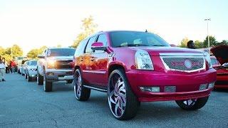 getlinkyoutube.com-WhipAddict: DJ Threat's Breast Cancer Aweareness Car Show, Custom Cars, Atlanta GA