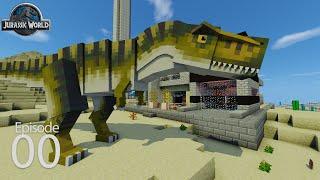 getlinkyoutube.com-Jurassic World Season 2 Day 0 - Prologue (Ark Survival in Minecraft)