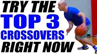 getlinkyoutube.com-TOP 3 Crossover Moves! SHIFTY Basketball Moves: Basketball Ankle Breakers | Snake