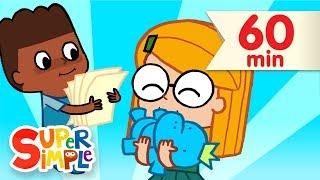 Clean Up Song + More | Kids Songs and Nursery Rhymes | Super Simple Songs