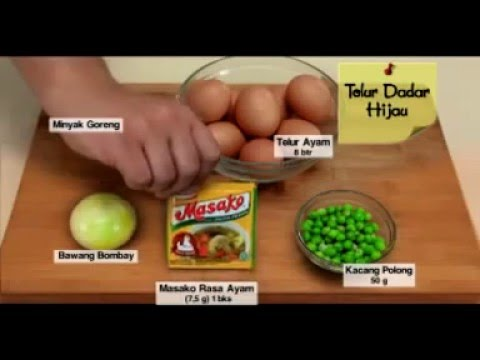 Dapur Umami - Telur Dadar Hijau