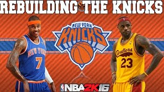 getlinkyoutube.com-NBA 2K16 My League: Rebuilding the New York Knicks
