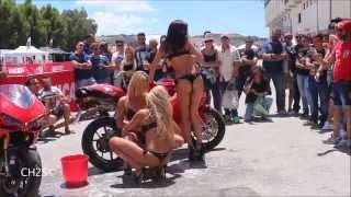 getlinkyoutube.com-Sexy Bike Wash - Motorfest 27/06/2015 - Racalmuto AG