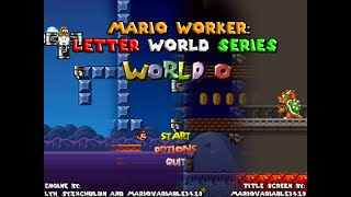 getlinkyoutube.com-Mario Forever : World O by Mariovariable3410 Walkthrough [HD]