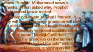 "getlinkyoutube.com-The Zuljinah Of Imam Hussain""Murtajis""Kaniz-e-Reza*"