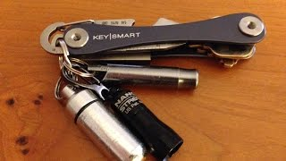 getlinkyoutube.com-EDC KeyChain Update - KeySmart Review