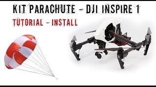 getlinkyoutube.com-NEW Parachute Drone DJI Inspire 1 - Tutorial - Install