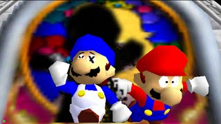 getlinkyoutube.com-super mario 64 bloopers: The Visitor.