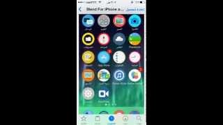 getlinkyoutube.com-ثيم Blend For iPhone and iPad جميل في السيديا