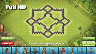 getlinkyoutube.com-Clash of Clans - Epic TH7 Star Farming Base ➞Speed Build