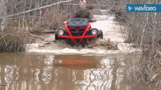 getlinkyoutube.com-can am xmr 570 water wheelies