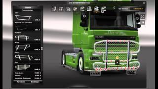 getlinkyoutube.com-Euro Truck Simulator 2 - Customization DAF XF 105 Bring [1.4.8]