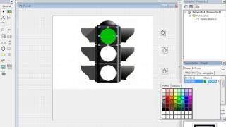 getlinkyoutube.com-como hacer un semáforo en visual basic 6.0