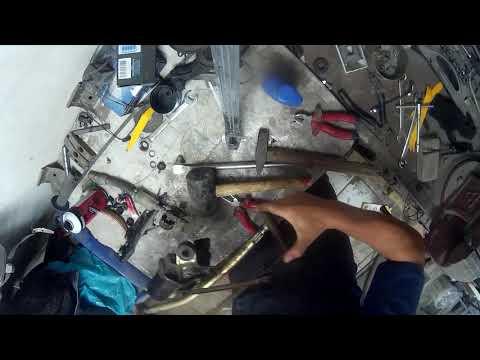 Снятие и ремонт трапеции дворников меган 2