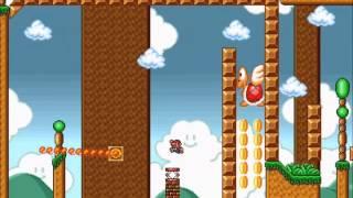 getlinkyoutube.com-Super Mario Bros. X (SMBX) - Super Mario Bros. Frustration X playthrough [P1]