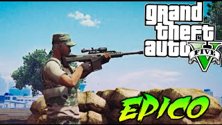 getlinkyoutube.com-CAMPEROS VS NINJAS !! EPICO FINAL!! HANGAR VS HANGAR EN GTA 5 ONLINE LO MAS EPICO DE GTA Makiman